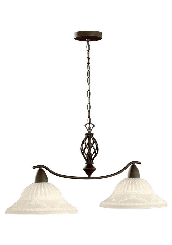 trio leuchten pendelleuchte 2 flammig kaufen otto. Black Bedroom Furniture Sets. Home Design Ideas