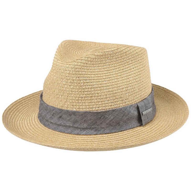 Stetson Sonnenhut Sommerhut mit Ripsband