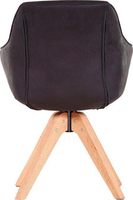 Stühle und Bänke - Gutmann Factory Drehstuhl »Chill« Esszimmerstuhl, Armlehnstuhl mit bequemer Polsterung  - Onlineshop OTTO