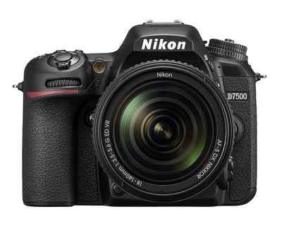 Nikon »D7500 Kit AF-S DX 18-140mm f3.5-5.6G ED VR« Spiegelreflexkamera