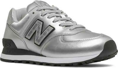 "New Balance »WL574 ""Metallic Pack""« Sneaker in glänzender Optik"