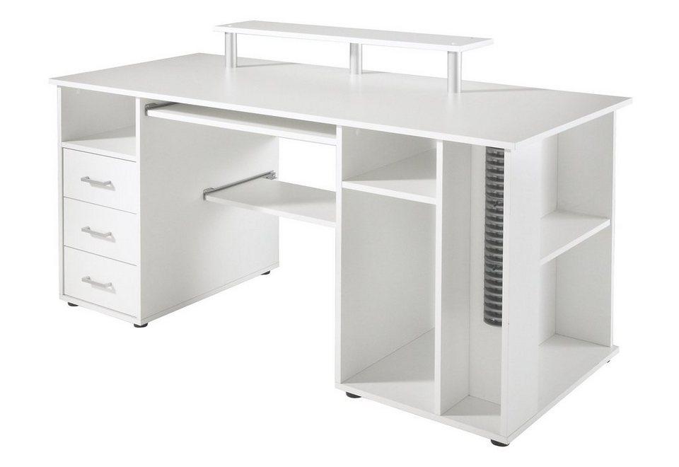 Schreibtisch Baku Mit Viel Funktion Und Ablagefläche Online Kaufen Otto