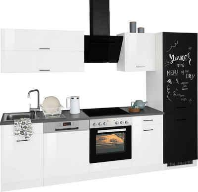HELD MÖBEL Küchenzeile »Trier«, mit E-Geräten, Breite 280 cm