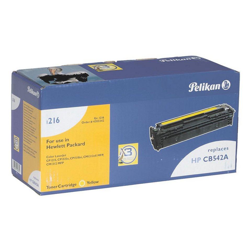 Pelikan Toner ersetzt HP »CB542A« Nr. 125A