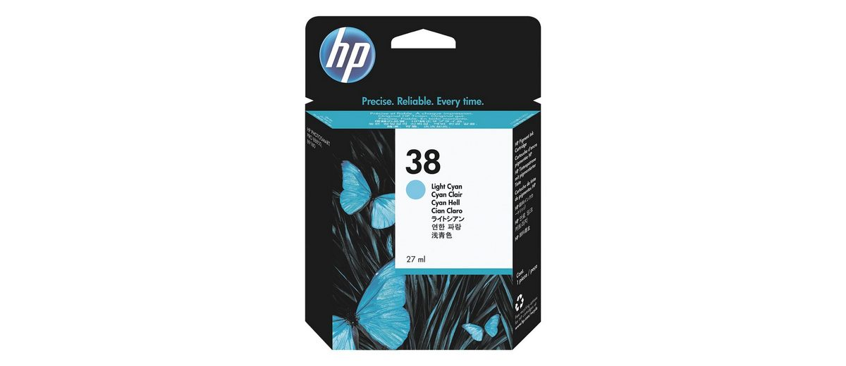HP Tintenpatrone »HP C9418A« HP 38