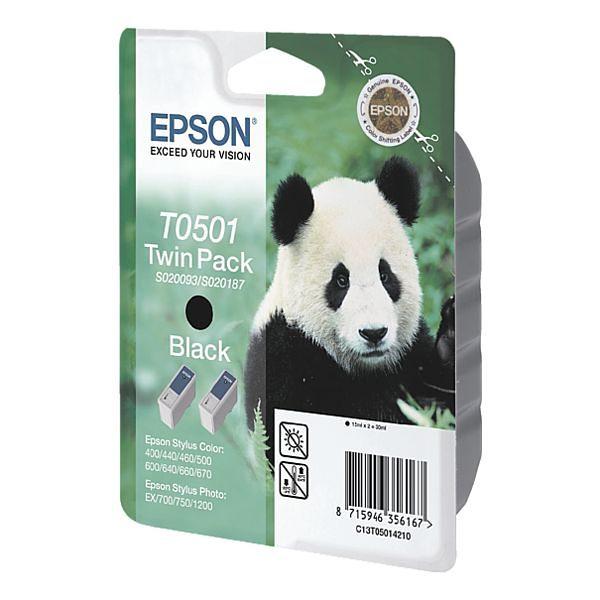 Epson Doppelpack Tintenpatronen »T050142«