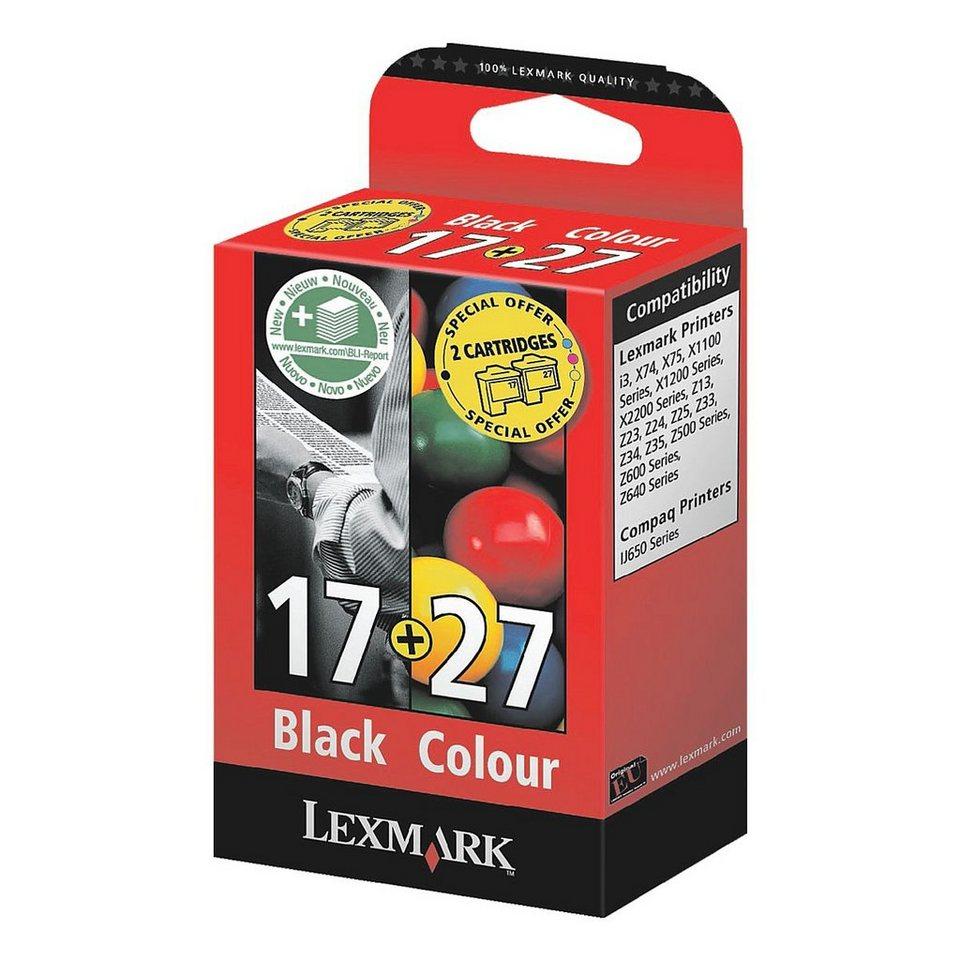 Lexmark Tintenpatronen-Set »10NX217 & 10NX227« Nr. 17 ...