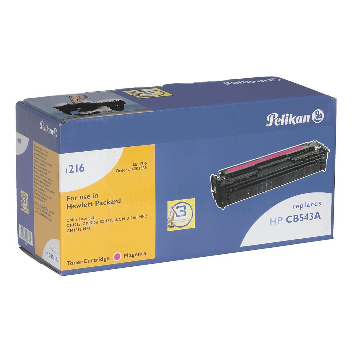Pelikan Toner ersetzt HP »CB543A« Nr. 125A