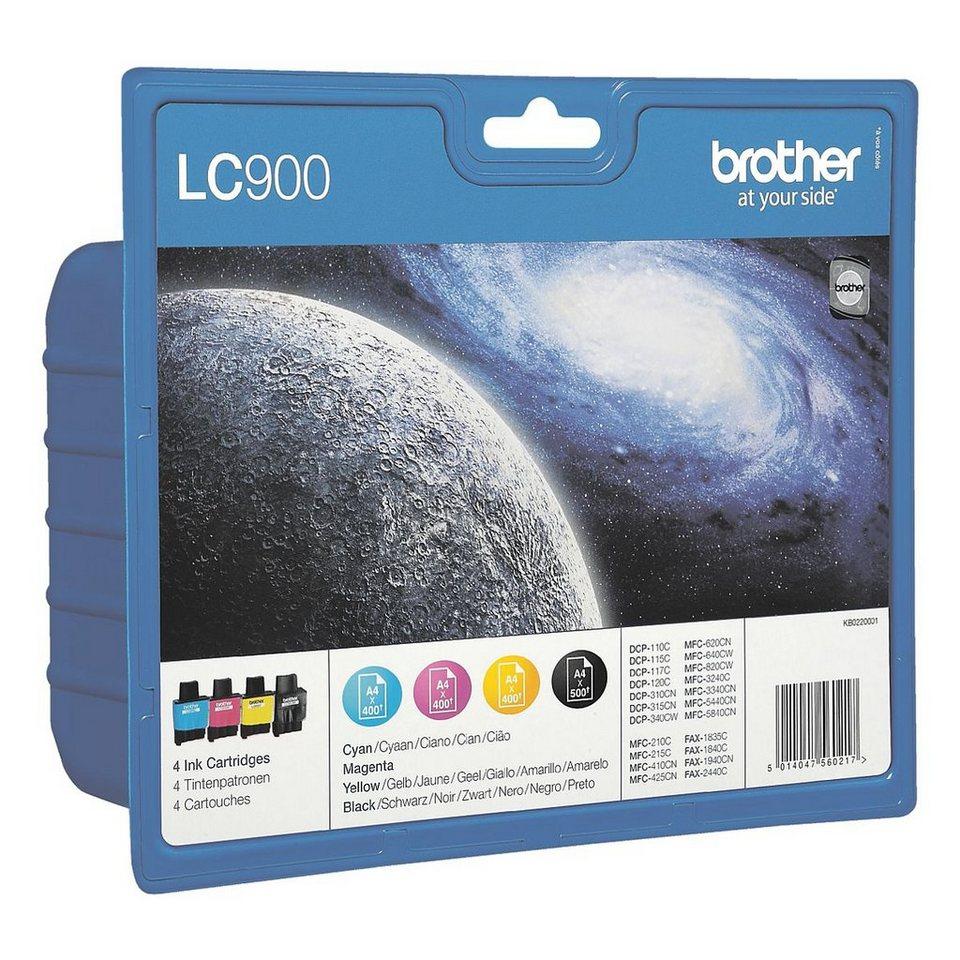 Brother Tintenpatronen-Set »LC900«