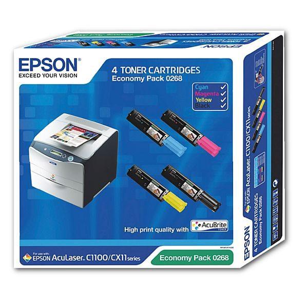 Epson Toner-Multipack »S050268«