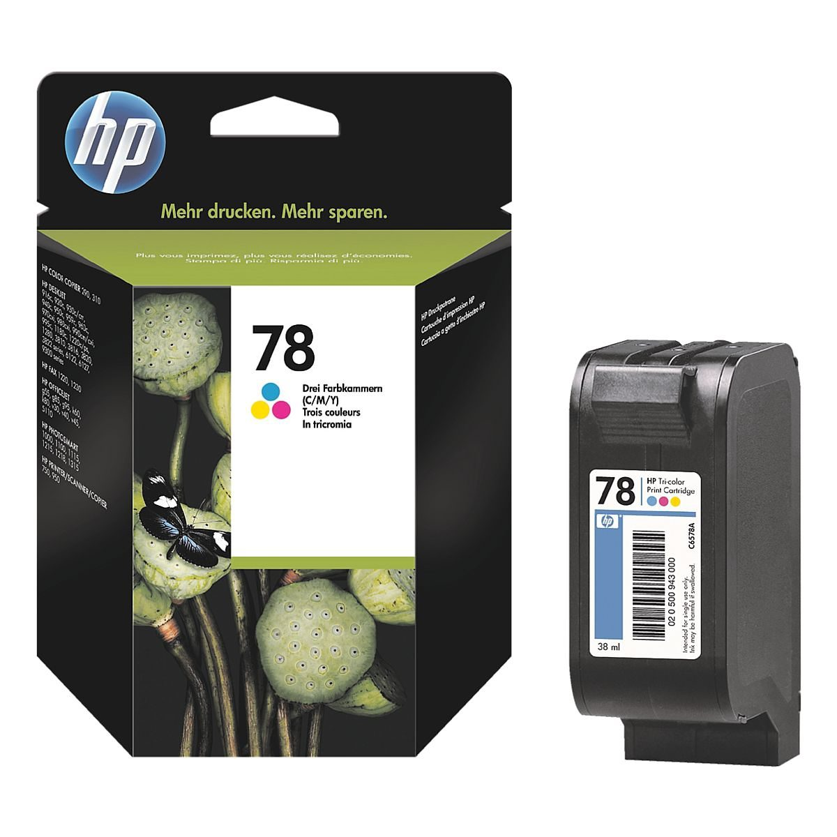 HP Druckpatrone »HP C6578AE« HP 78