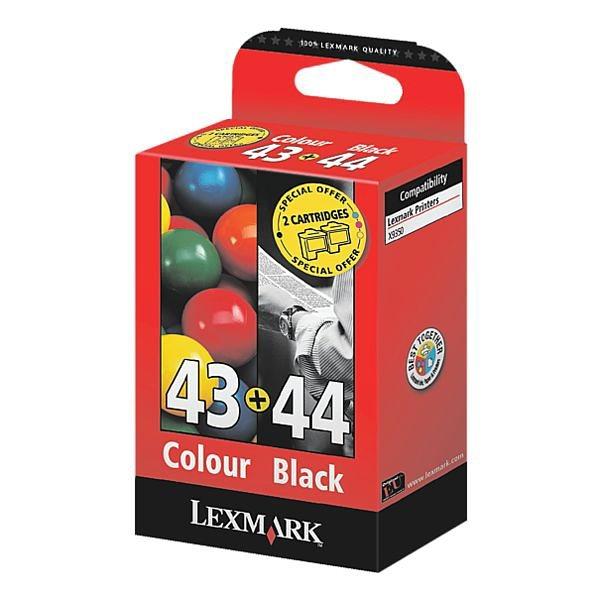 Lexmark Tintenpatronen-Set »18YX143 & 18Y0144« Nr. 43 ...