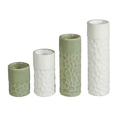 HTI-Living Teelichthalter »Teelichthalter Porzellan 4er Set« (4 Stück)