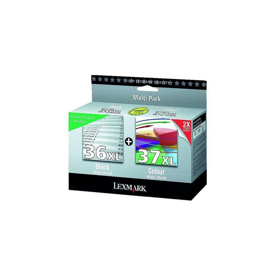 Lexmark Tintenpatronen-Set »0080D2978« Nr. 36 XL & Nr....