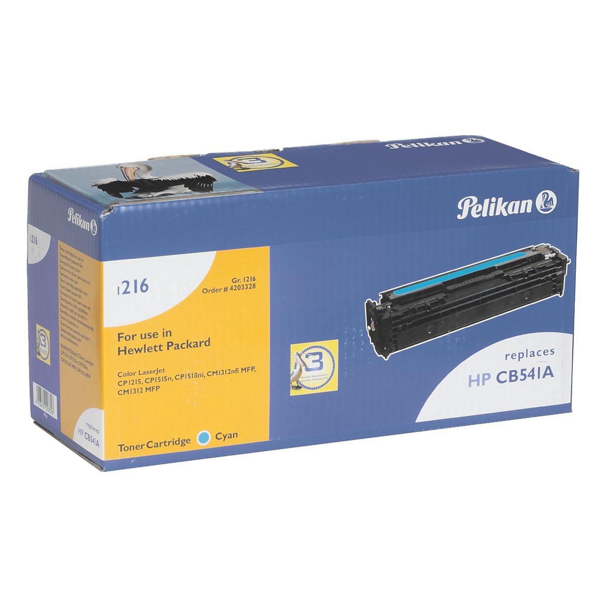 Pelikan Toner ersetzt HP »CB541A« Nr. 125A