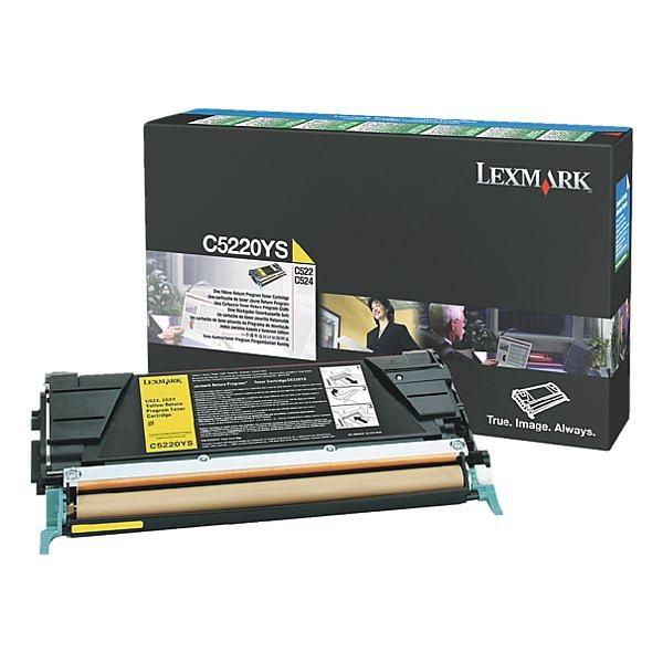 Lexmark Rückgabe-Tonerkassette »00C5220YS«