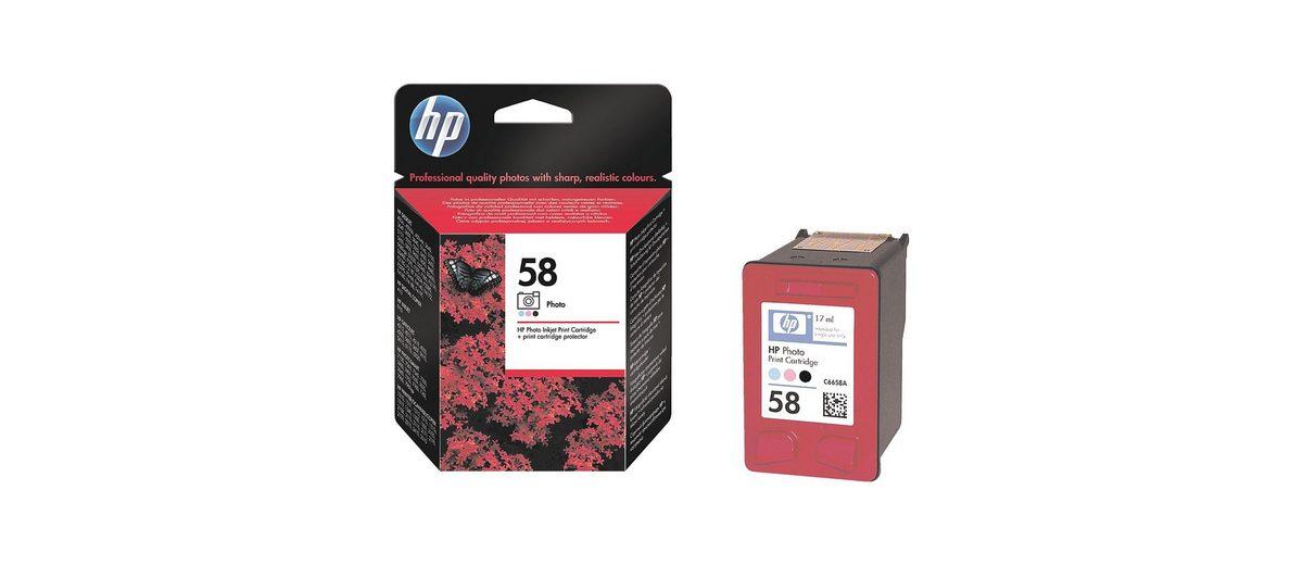HP Foto-Druckpatrone »HP C6658AE« HP 58