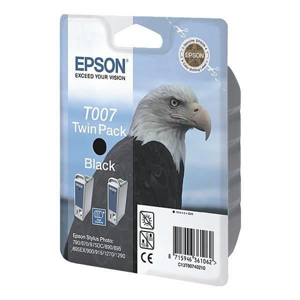 Epson Doppelpack Tintenpatrone »T007402« Nr. T007