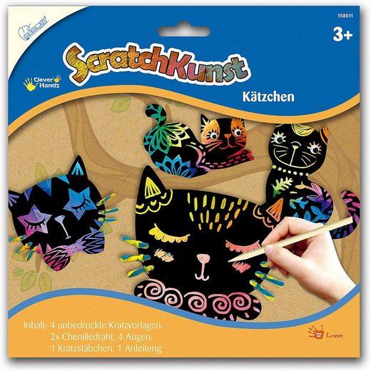 MAMMUT Spiel und Geschenk Bild »Scratch Art Kätzchen«