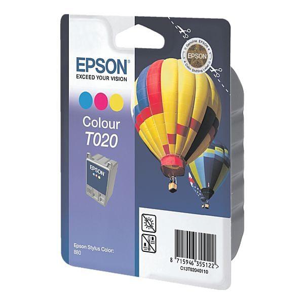 Epson Tintenpatrone »T020401« Nr. T020