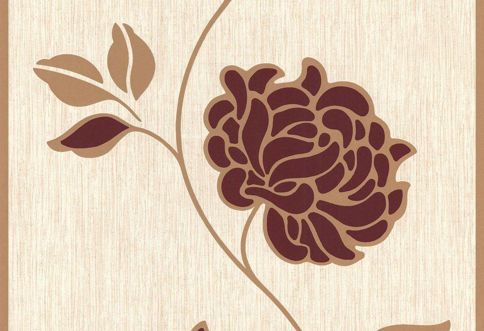 Vliestapete, Brigitte Home, trendig, Blumen