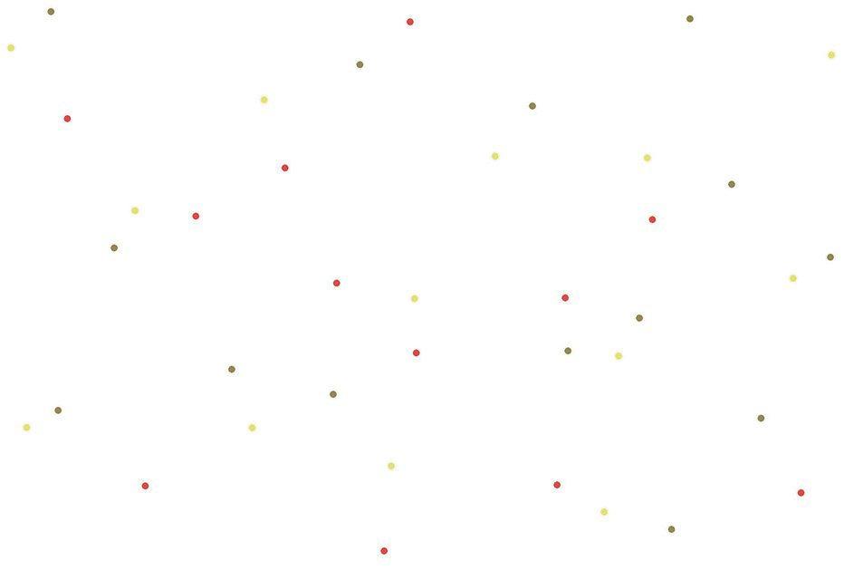 Vliestapete, Esprit, trendig, Punkte, Bunt in weiß-bunt