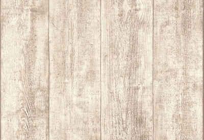 Vliestapete, Livingwalls, »Tapete Best Of Wood`n Stone In Vintage Holz Optik