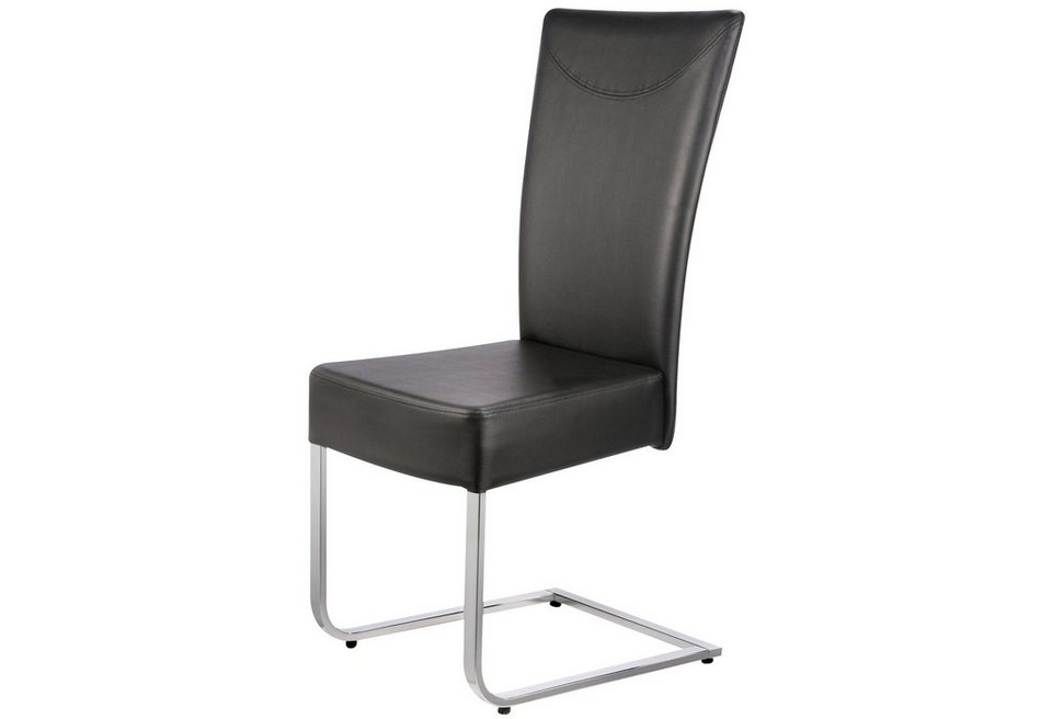 Set: Stühle (2er-Set) in schwarz