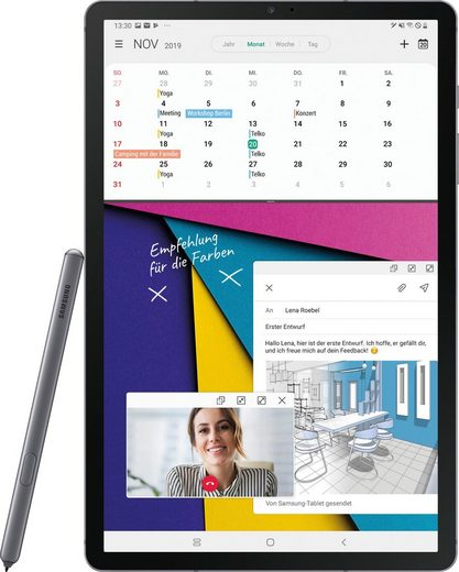 "Samsung Galaxy Tab S6 - LTE Tablet (10,5"", 256 GB, Android, 4G (LTE)"