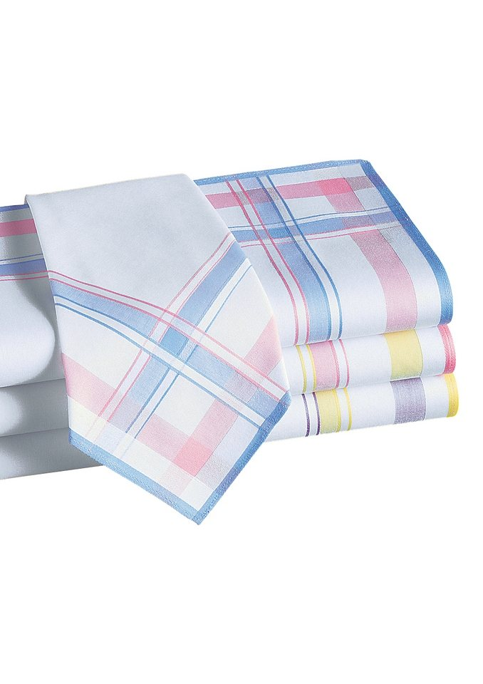 Damen-Taschentücher in 4 Stück