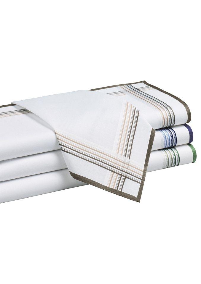 Herren-Taschentuch in 4 Stück