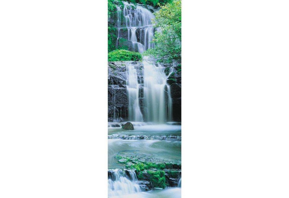 Türposter, Komar, »Pura Kaunui Falls«