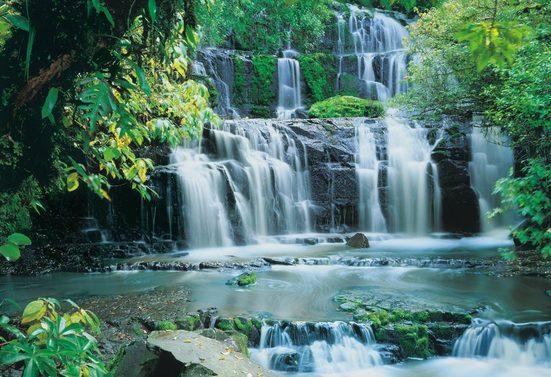 Fototapete »Pura Kaunui Falls«, naturalistisch