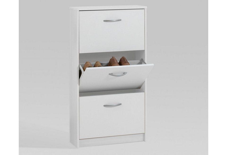 schuhschrank fmd step 3 online kaufen otto. Black Bedroom Furniture Sets. Home Design Ideas
