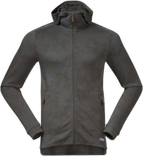 Bergans Outdoorjacke »Tuva LT Wool Kapuzenjacke Herren«