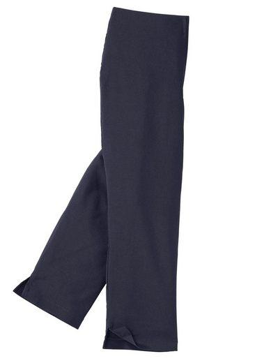 Classic Basics Capri-Hose mit innenliegendem Dehnbund