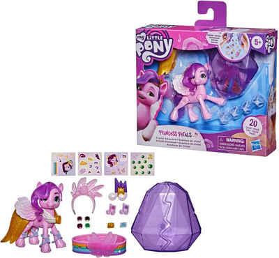 Hasbro Spielfigur »My Little Pony, A New Generation - Kristall-Abenteuer Princess Petals«, mit Kristallbehälter und Freundschaftsarmband