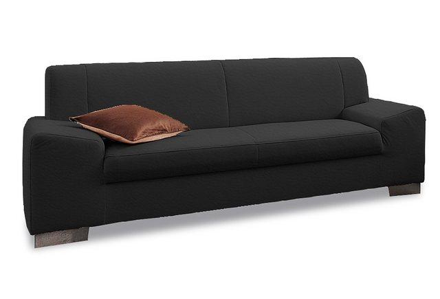 DOMO collection 3-Sitzer | Wohnzimmer > Sofas & Couches > 2 & 3 Sitzer Sofas | Schwarz | DOMO collection