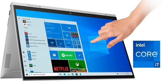 HP 15-es0079ng Notebook (39,6 cm/15,6 Zoll, Intel Core i7, Iris© Xe Graphics, 1000 GB SSD, Kostenloses Upgrade auf Windows 11, sobald verfügbar)