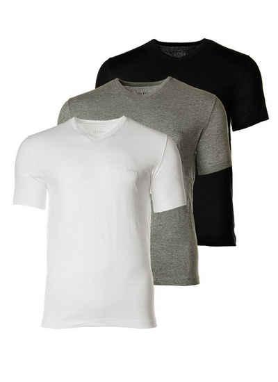 Boss Unterhemd »Herren T-Shirt, 3er Pack - Pure Cotton, V-Neck,«