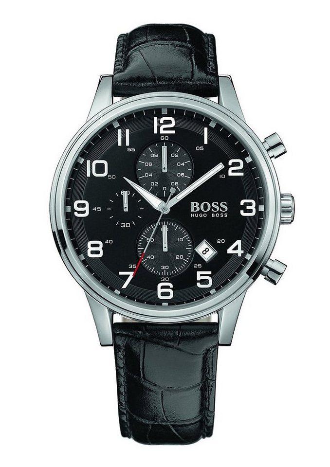Boss Chronograph »AEROLINER CHRONO, 1512448« in schwarz