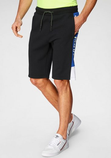 CAMP DAVID Sweatshorts mit Logoprint