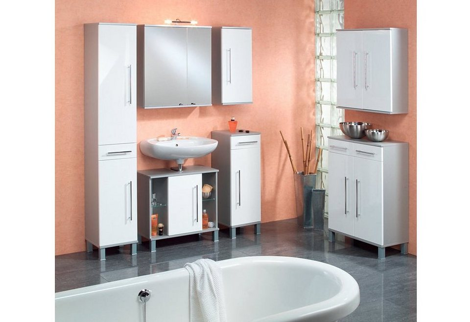 Waschbeckenunterschrank , Kesper, »Elba« in weiß