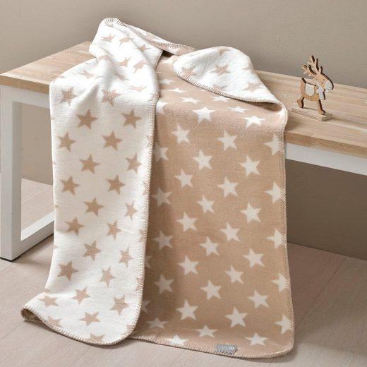 Babydecke »Sterne«, SEI Design, mit Wendeseite