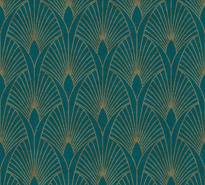 living walls Vliestapete »New Walls 50's Glam Art Deco Optik«, Barock