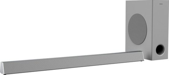 Philips HTL3325 Soundbar (Bluetooth, 300 W, mit kabellosem Subwoofer)