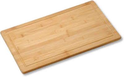 KESPER for kitchen & home Schneide- und Abdeckplatte, Bambus, (1 tlg)