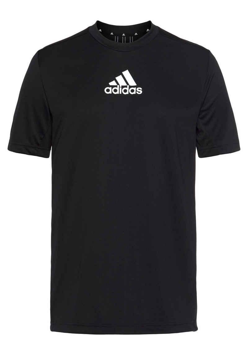 adidas Performance Trainingsshirt »MEN 3STRIPES BACK TEE«