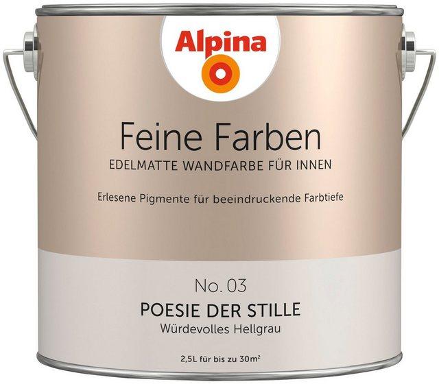 Alpina Feine Farben Poesie der Stille, grau