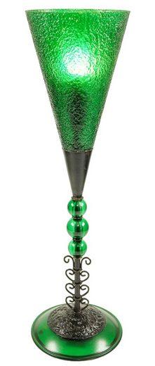 Guru-Shop Tischleuchte »Tischleuchte Kokopelli - Millepede Lamp H1013«